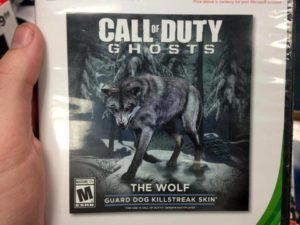 cod Ghosts The Wolf skin