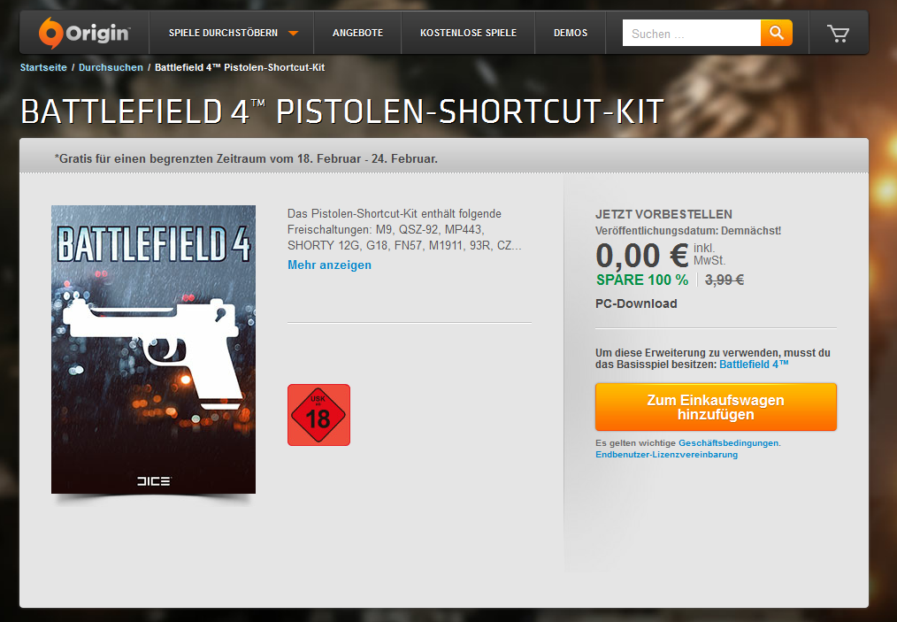 Battlefield 4-Shortcut-Kit