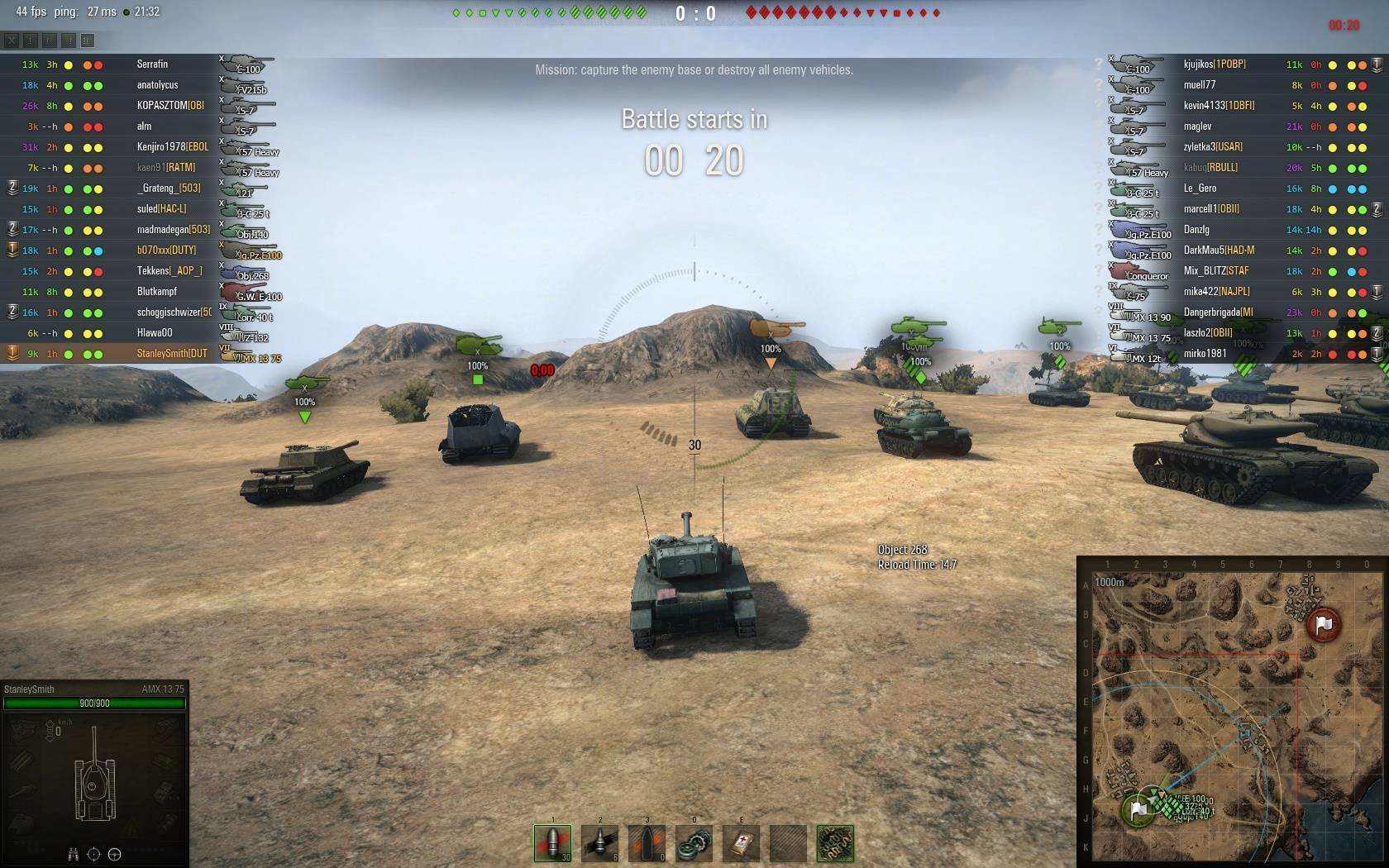 amx 13 75 matchmaking Matchmaker we recognize that the matchmaker has been one of the biggest sources of player frustration in the game over the years, you reported frequent cases of uneven team makeups, map gameplay-wise, the amx 13 75 can be played as an invisible passive scout or an active scout/flanker.