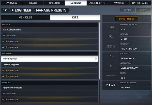 Battlefield 4 - Preset - 1