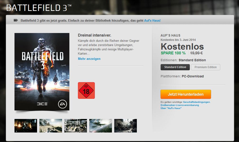 Battlefield 3_Aufs Haus Aktion