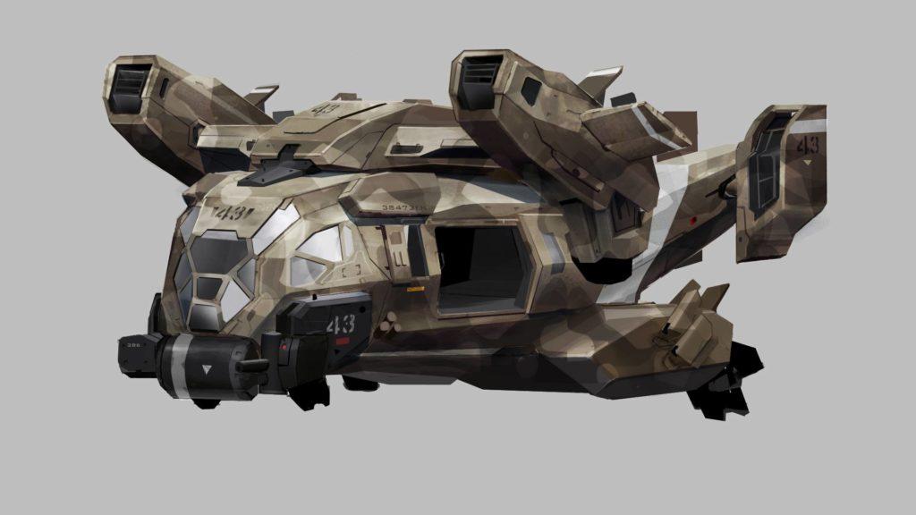 Das Razorback VTOL