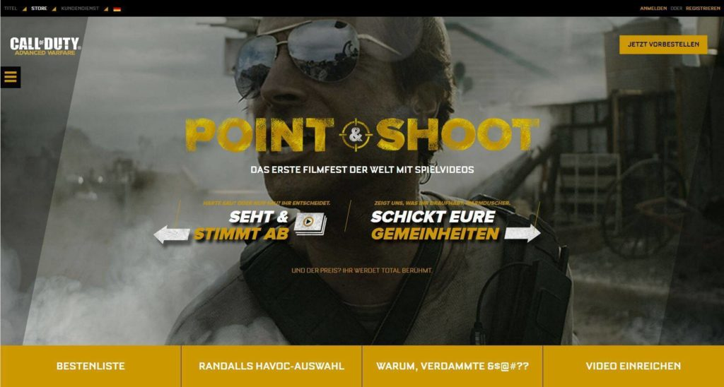 Das erste Call of Duty Community Filmfestival