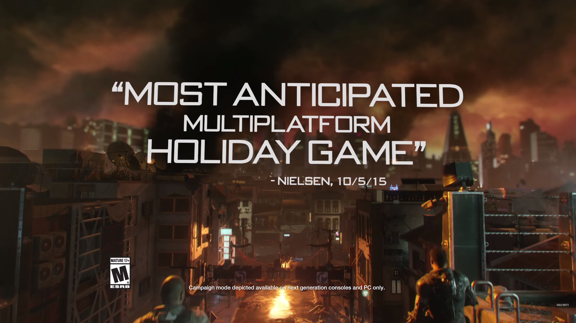 Official Call of Duty®_ Black Ops III – Launch Gameplay Trailer