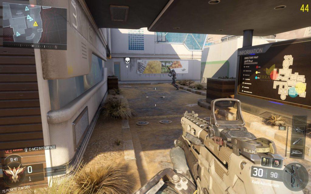 Call of Duty: Black Ops 3 - Miese Performance selbst auf Highend-PCs! Ganze 44 FPS bei den voreingestellten und empfohlenen Settings. No-Go!