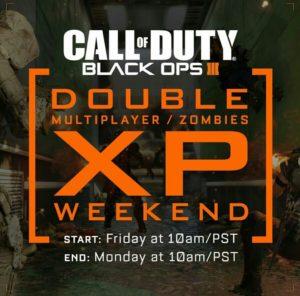 Doppel XP Wochenende angekündigt!