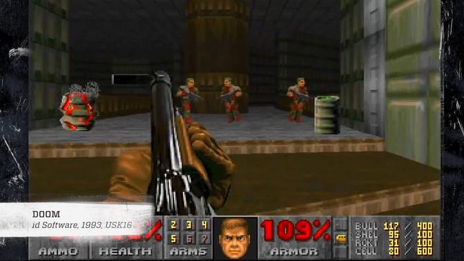 """Das """"Doom""""-Spiel - die Mutter aller Killerspiele."""