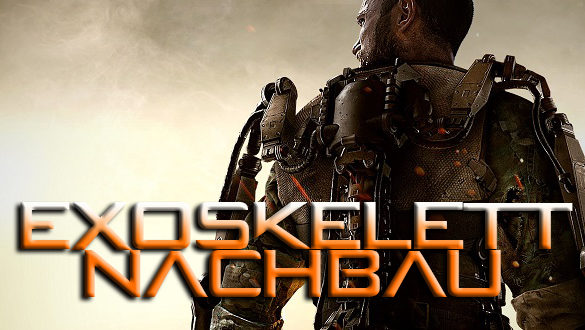 Exoskelett Nachbau des Youtubers The Hacksmith