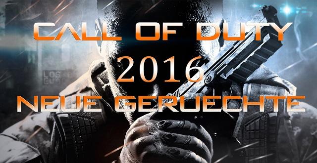 Neue Gerüchte um Call of Duty 2016