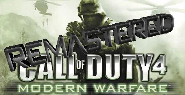 CoD MW Remastered Edition via Twitter bestätigt