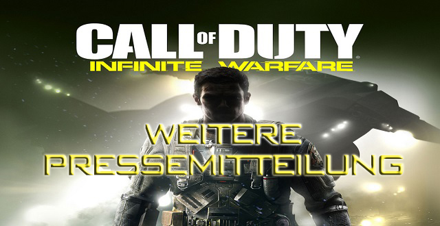 Pressemitteilung Call of Duty: Infinite Warfare