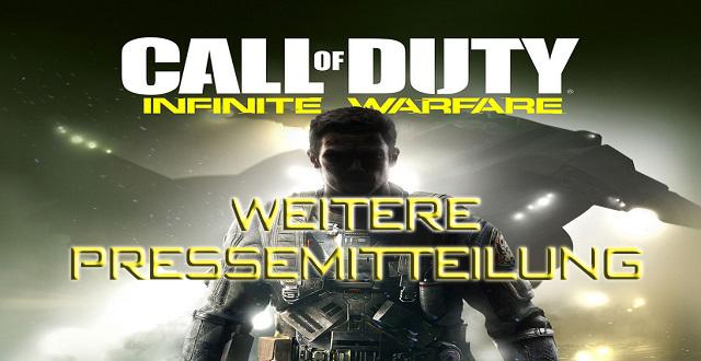 Pressemitteilung Call of Duty: Infinite Warfare