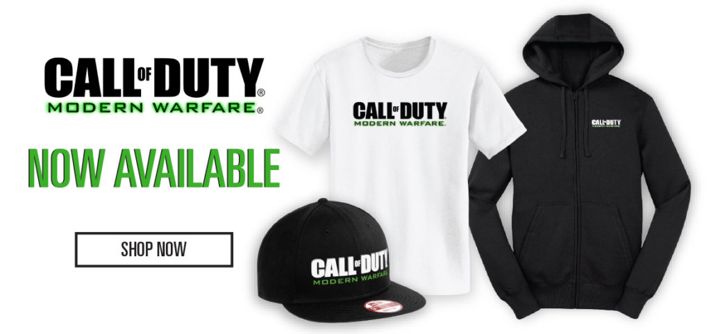 Call of Duty: Modern Warfare Merchandise im Call of Duty Store!