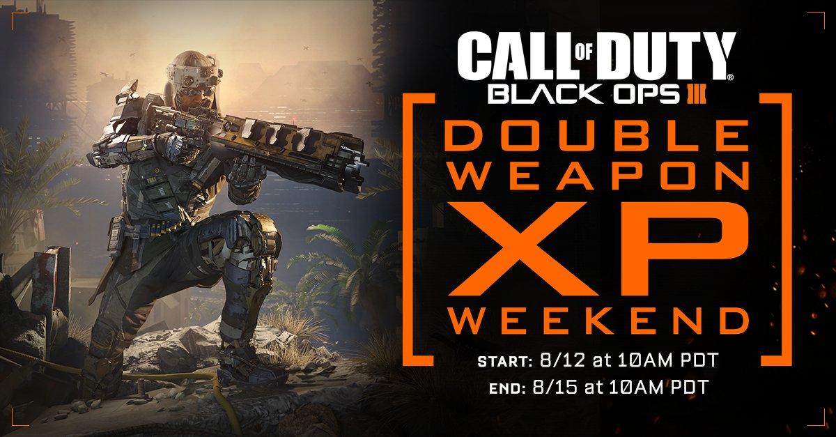 doppel-weapon-xp-weekend