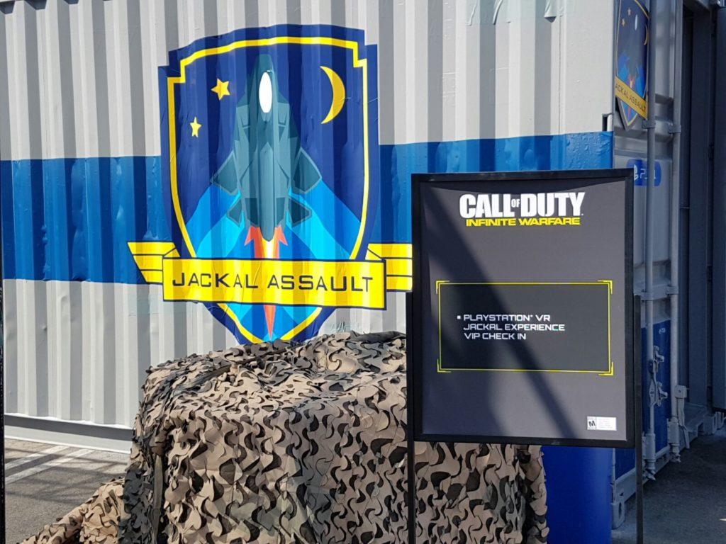 Die CoDInfobase ist vor Ort und wird sich einen ersten Eindruck verschaffen vom Call of Duty: Infinite Warfare VR-Level!