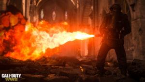 COD:WWII Flammenwerfer