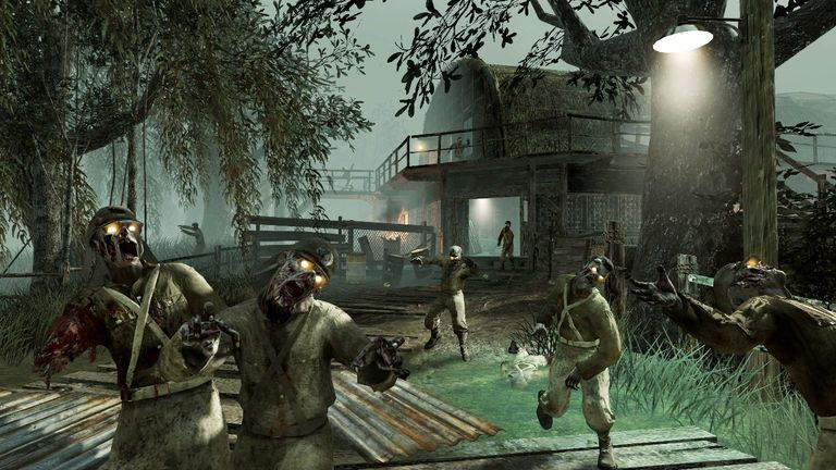 Auch an Bord der Zombies Chronicles: Shi no Numa