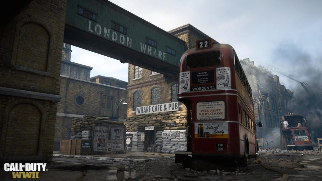 Call of Duty: WWII Map London Docks