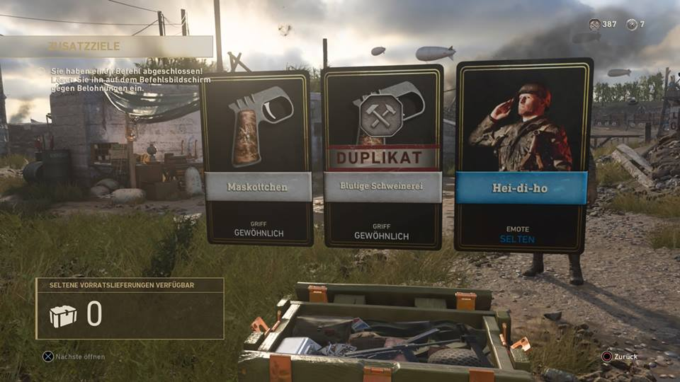 WWII Supply Drop Duplikat