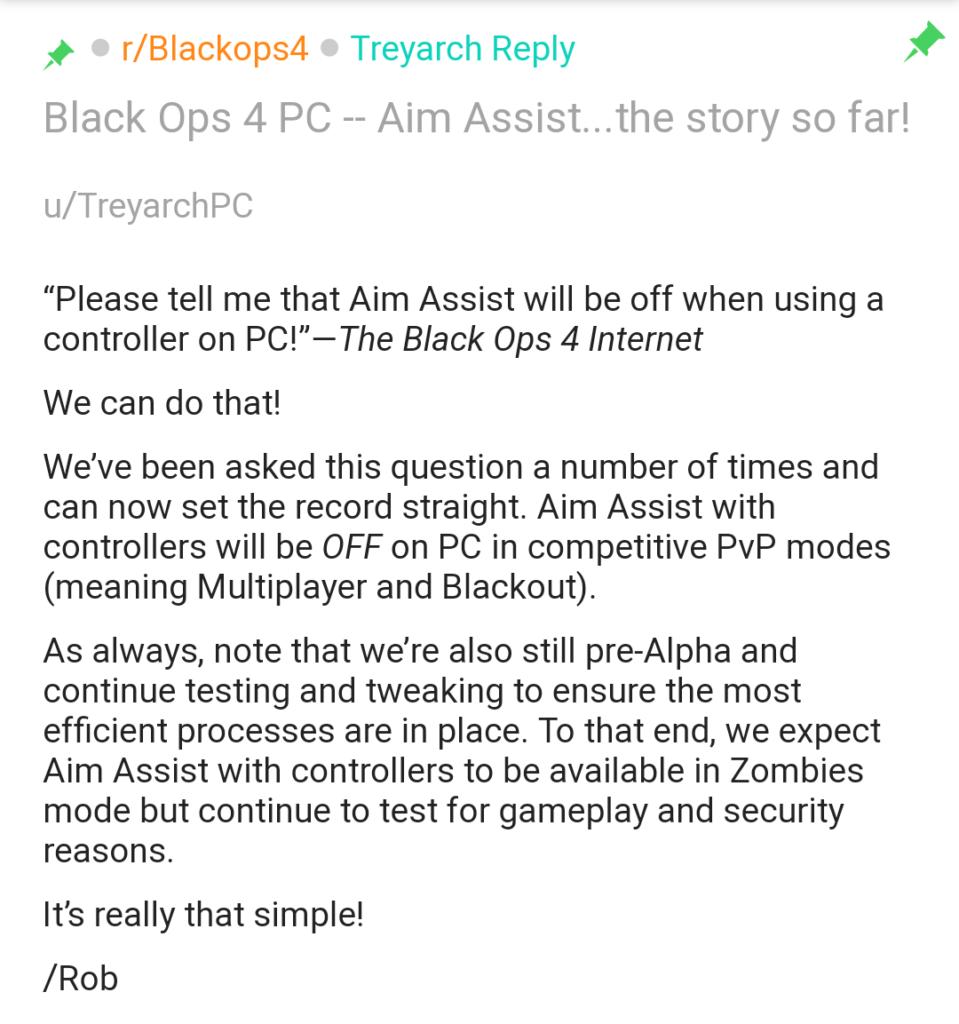 Aim Assist