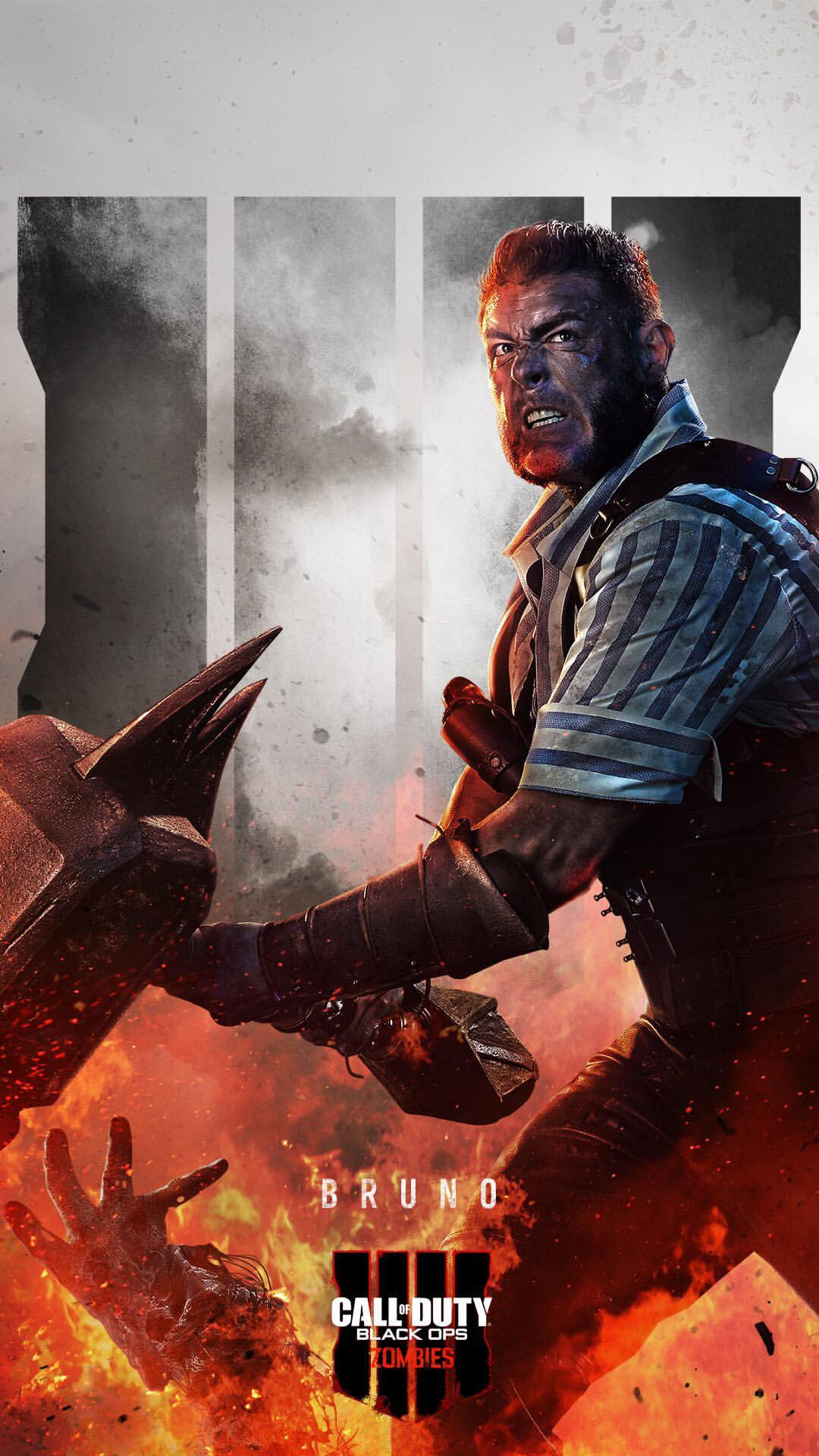 Black Ops 4 Zombie Wallpaper fürs Handy