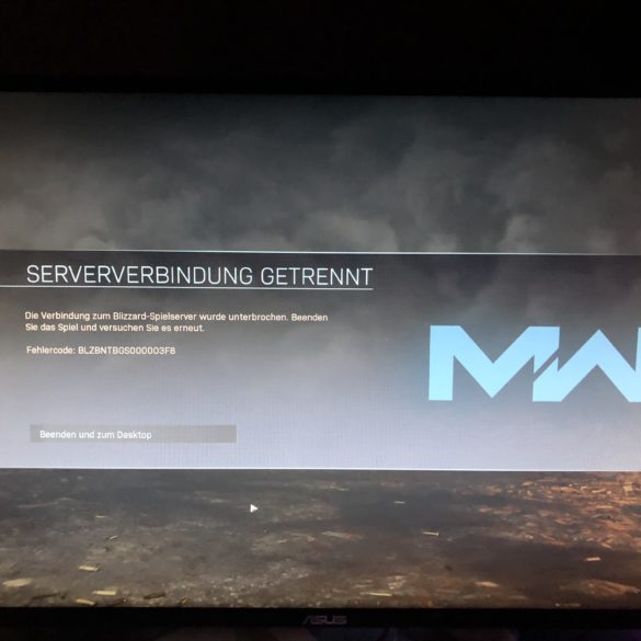 Aus dem Multiplayer gekickt: Battle.net hat Loginprobleme und schmeißt Dich aus Modern Warfare raus!